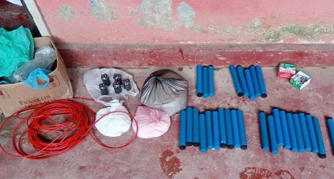 Explosive material also found in Peradeniya