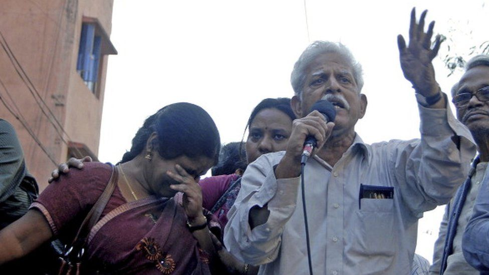 Jailed India Activist, 81, granted temporary bail