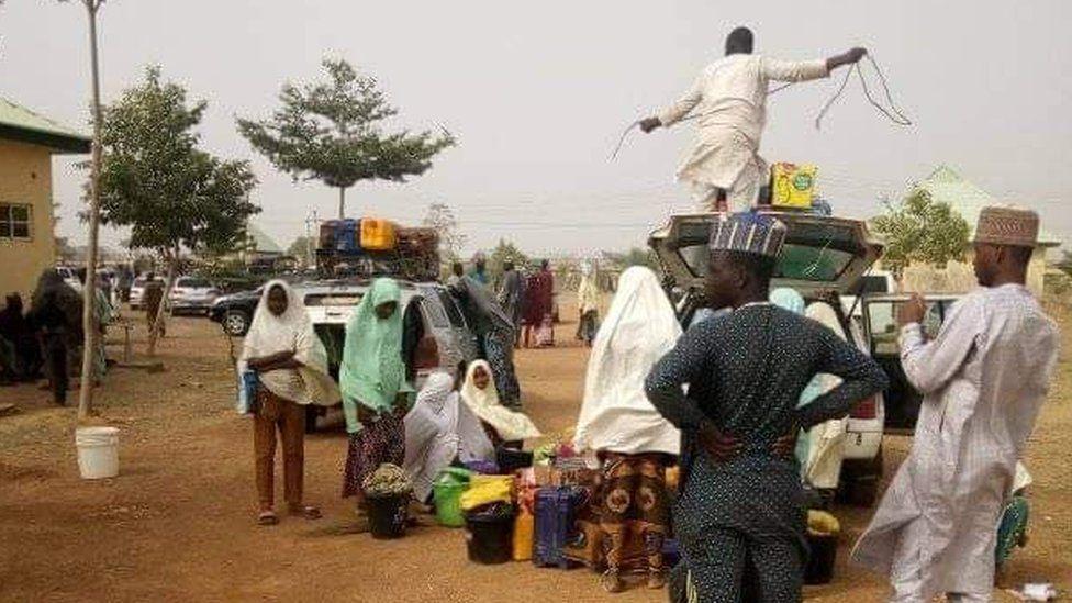 More than 300 Nigerian schoolgirls abducted