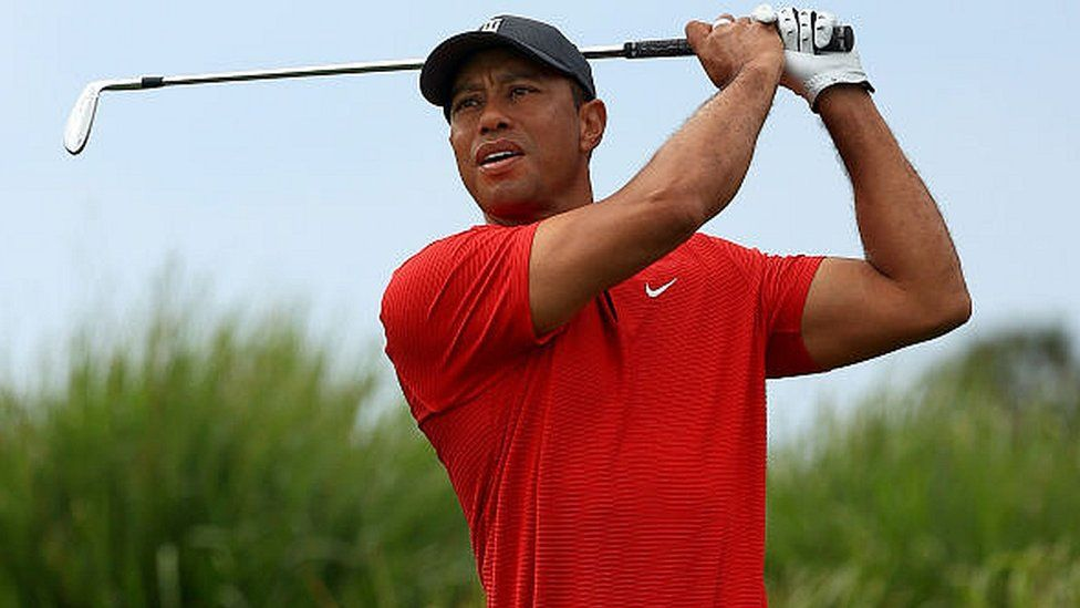 Woods in good spirits after hospital move