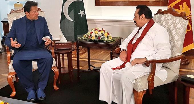 Sri Lanka – Pakistan Prime Ministers meet in Colombo