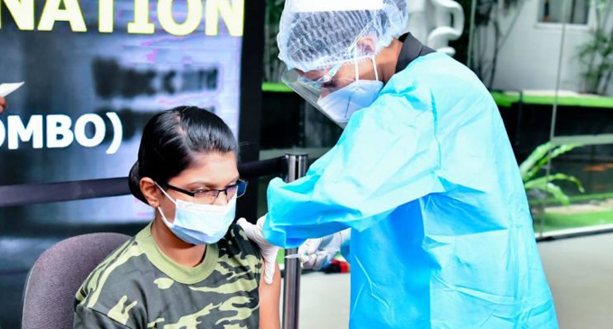 Over 83,400 Security Forces Personnel vaccinated