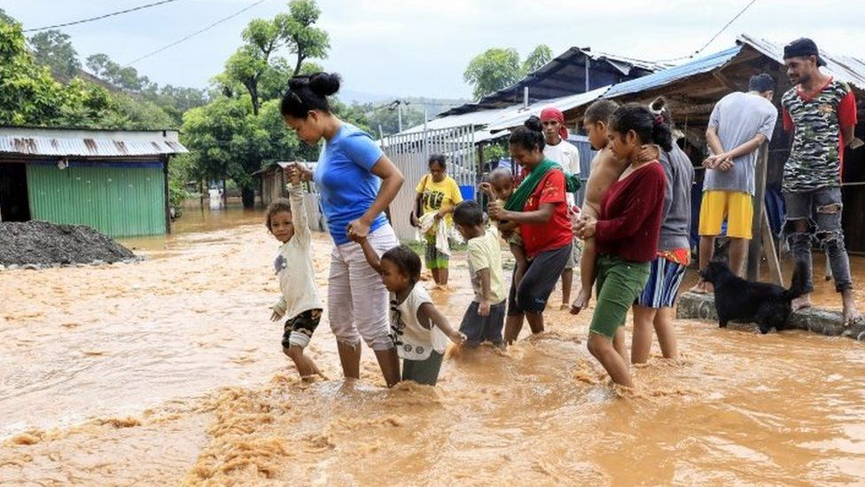 Flash floods kill 113 in Indonesia and East Timor