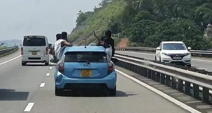 Police Probe launched on reckless driver seen on Southern Expressway