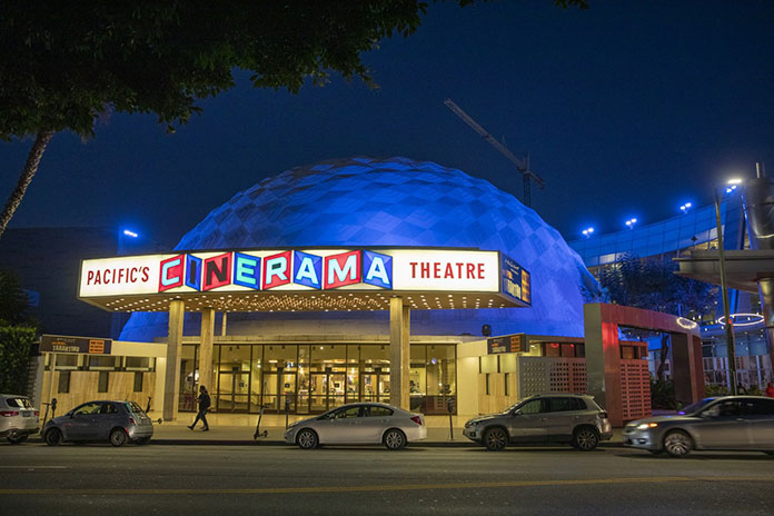 California cinemas return to 100% in June