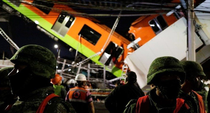Mexico City metro overpass collapses, killing 15