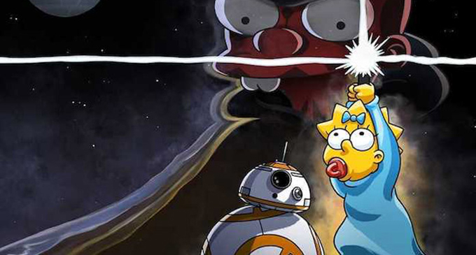 """""""Simpsons"""" short set for """"Star Wars"""" Day"""