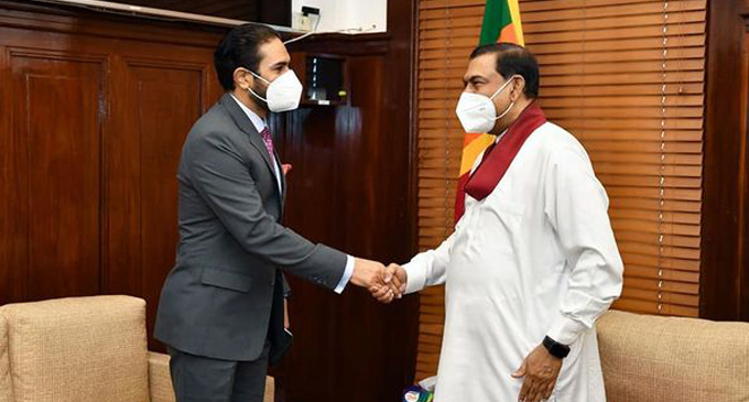 Pakistan's Acting High Commissioner calls on new Finance Minister