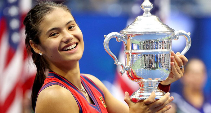 US Open champion celebrated in China for her heritage