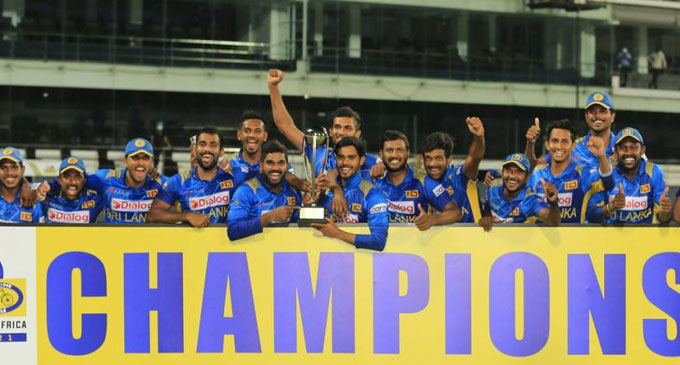 President adds wishes to the victorious Sri Lankan Cricket team